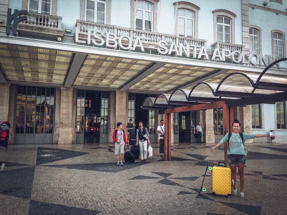Мадрид-Лиссабон. Ночной поезд Train Hotel.