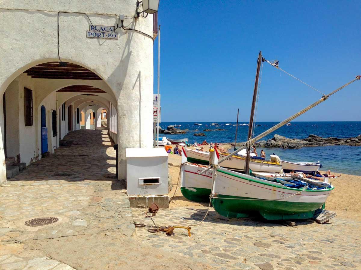 Calella de Palafrugell. Продолжая путешествие по Испании.