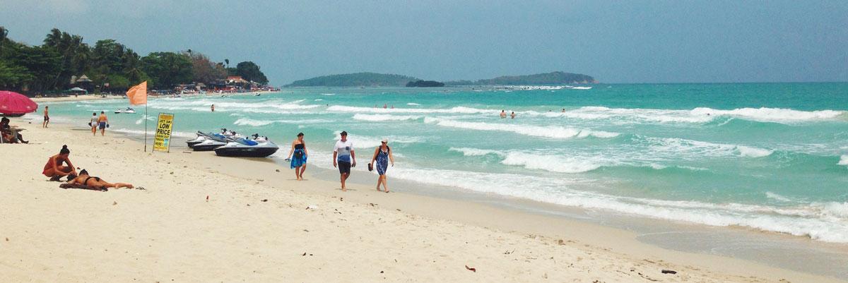 Chaweng beach. Samui
