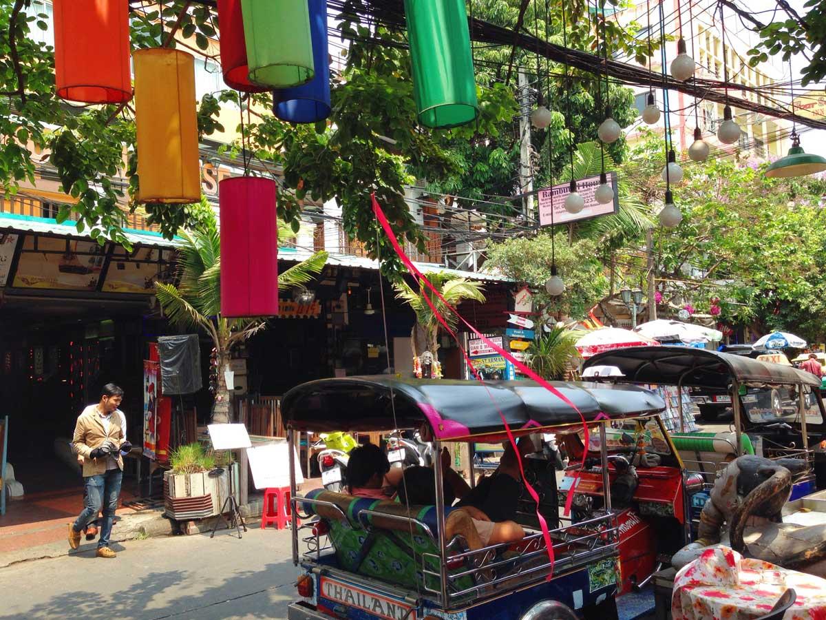 Краски Бангкока. Моими глазами год спустя.