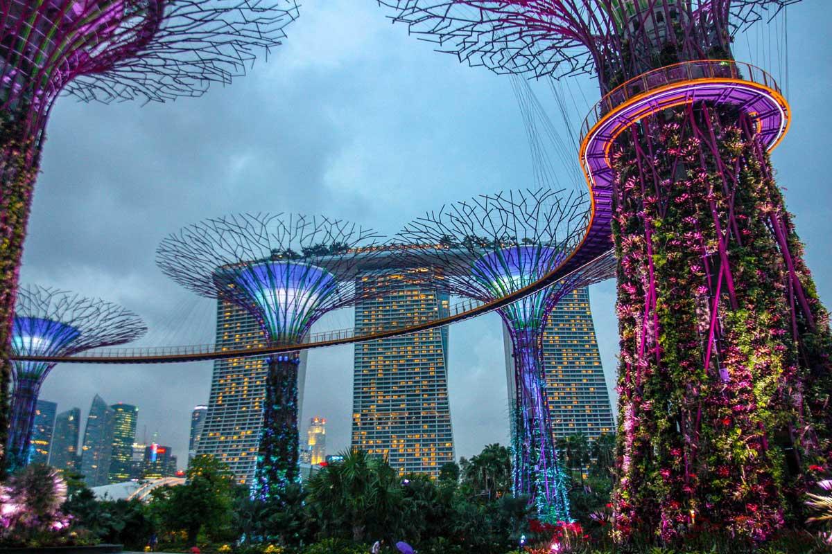 Сингапур. Город Будущего.